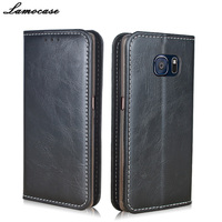 For Samsung S6 Case Leather Flip Case Galaxy S6 Cover For Coque Samsung Galaxy S6 G920F