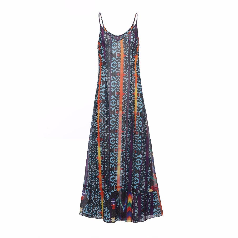 78d9f97a08327 Women Sundress Maxi Dress Purple Floral Elegant Boho Dresses Women Female  Casual Long Dress 2019 Large Size Plus Dresses