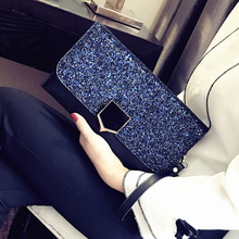 Crossbody Bags for Women Shoulder Bag Clutches Envelope Chain Thin Sac Main Femme Day PU Single Cell Phone Pocket