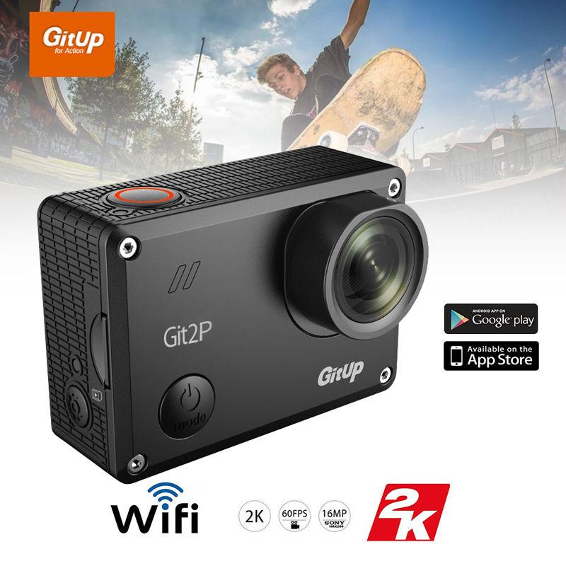Gitup git2p embalaje pro full hd 2 k 1080 p 60fps para panasonic mn34120 16mp se