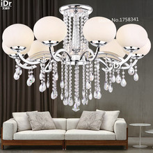 high quality Living room Crystal chandeliers and pendants E27 CCC CE certification warranty D90cmx H60cm