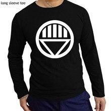 dce3feb44d7c76 men t-shirt Green Lantern Corps Red Lantern Symbol Logo cotton printed t  shirt fashion
