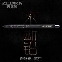 Япония Зебра delguard P-MA85 механический карандаш 0,5 0,3 мм Запись постоянно низкий центр тяжести 1 шт