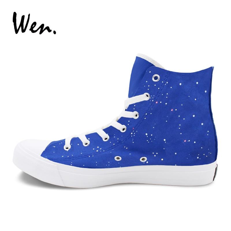 Wen унисекс спортивная обувь Ручная роспись обувь Кики Услуги Аниме Дизайн обувь с подошвой из вулканизированной резины для девочек и мальчиков Косплэй; обувь на Плоском Каблуке - 4