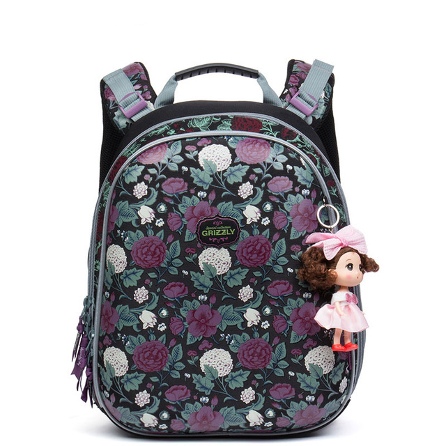 NEW Arrived School Bags for Girls Waterproof Bag Kids Flower Printing Book Bag Orthopedic School Backpacks Mochila Escolar