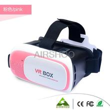 2016 Professional VR BOX II 2 3D Glasses VR BOX Upgraded Virtual Reality 3D Video Glasses (Pink, Blue, Green,Yellow and Black)