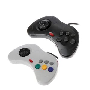Image 2 - USB קלאסי Gamepad בקר Wired משחק מחשב בקר Joypad עבור Sega שבתאי PC עבור מחשב נייד מחברת