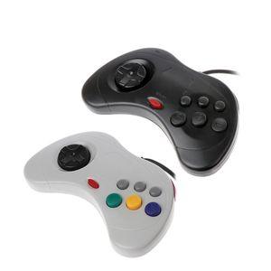 Image 2 - Классический игровой контроллер USB, проводной игровой контроллер для ПК, джойстик для ноутбука Sega Saturn