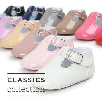 12 Color Fashion Baby Girls Baby Shoes Cute Newborn First Walker Shoes Infant Letter Princess Soft Sole Bottom Anti-slip Shoes 1