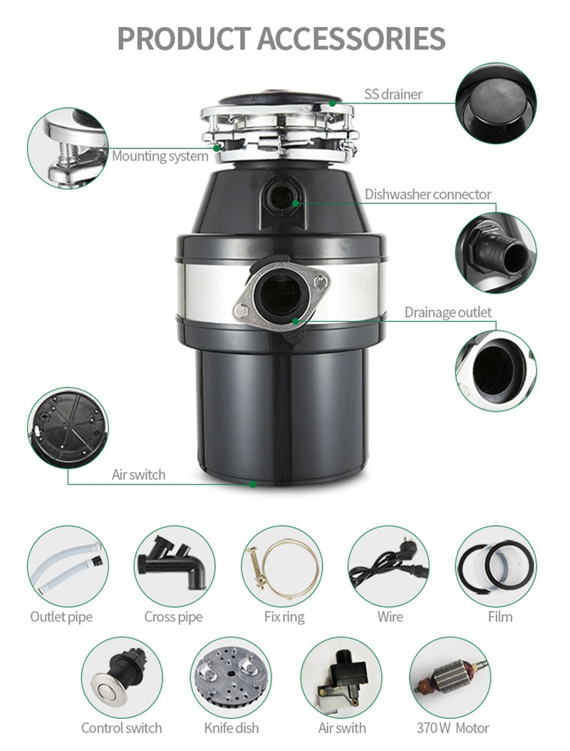 Food Garbage Disposer-Eco-Friendly Waste Recycling accessories