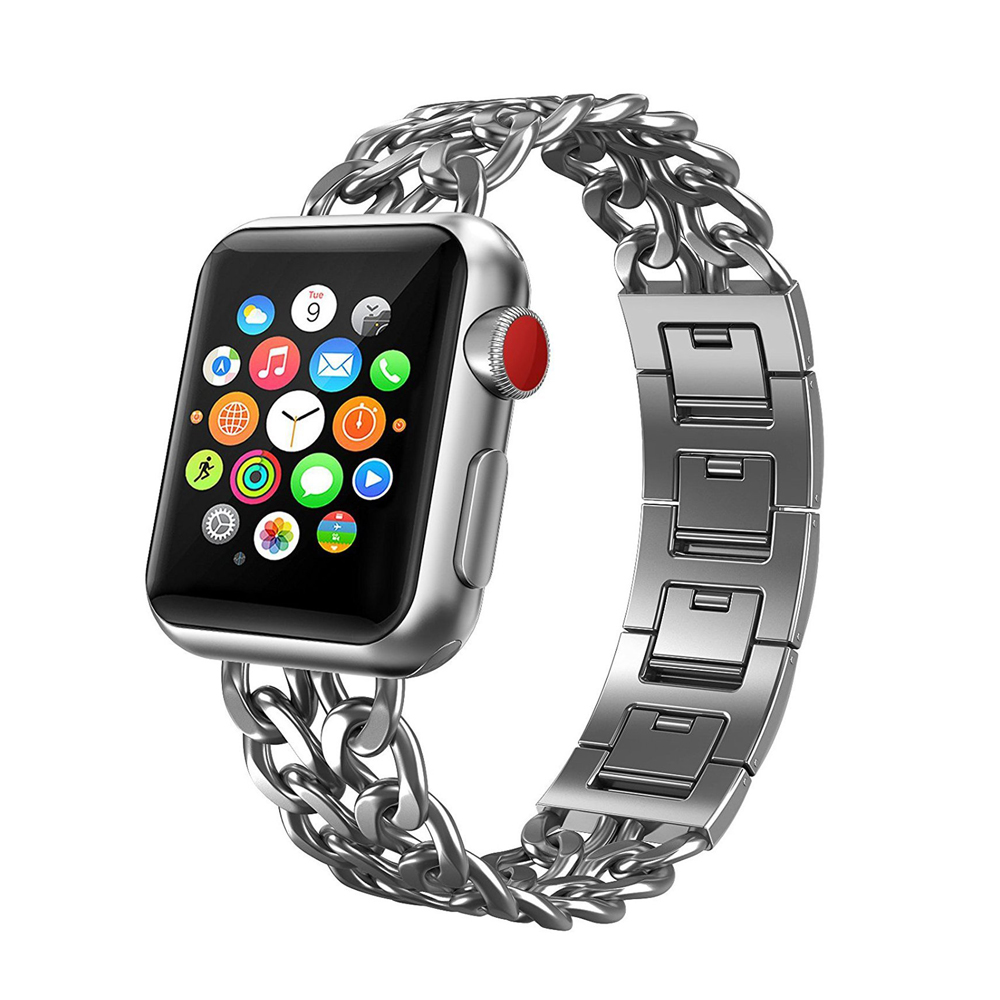 Stainless Steel Link Bracelet For Apple Watch band 42mm/38mm Metal Wristband strap for iWatch series 3/2/1 watch accessories цена