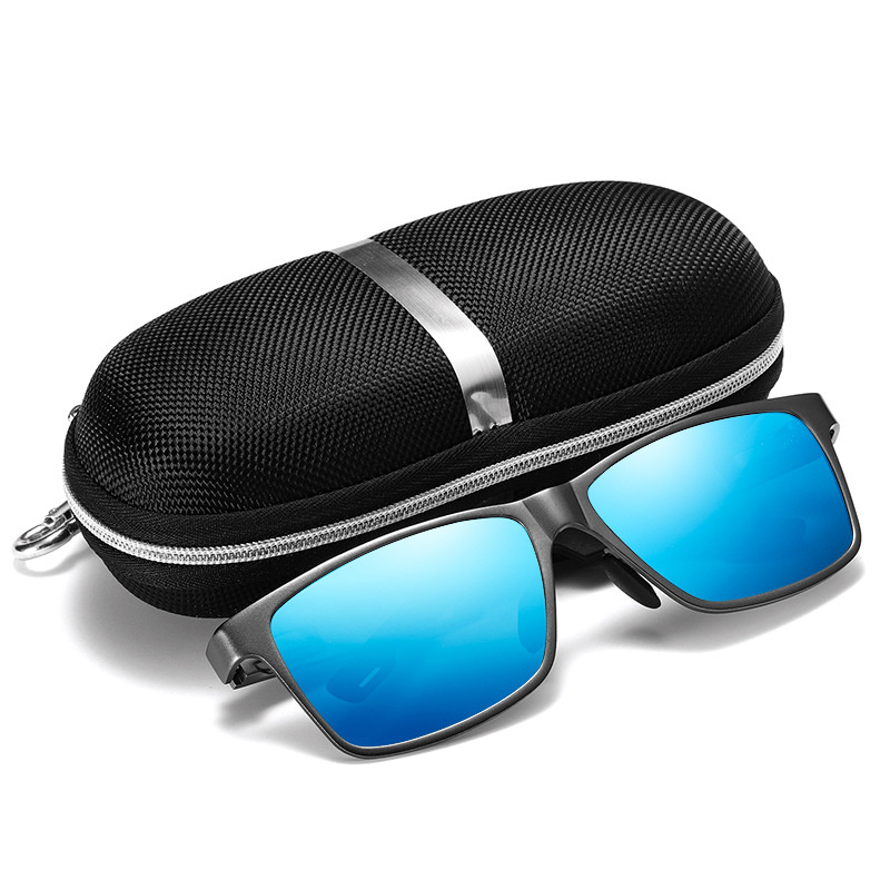Image 2 - Retro Aluminum Magnesium Sunglasses Men Polarized Lens Vintage Classic Sun Glasses For Men Women Eyewear Original Accessories-in Men's Sunglasses from Apparel Accessories