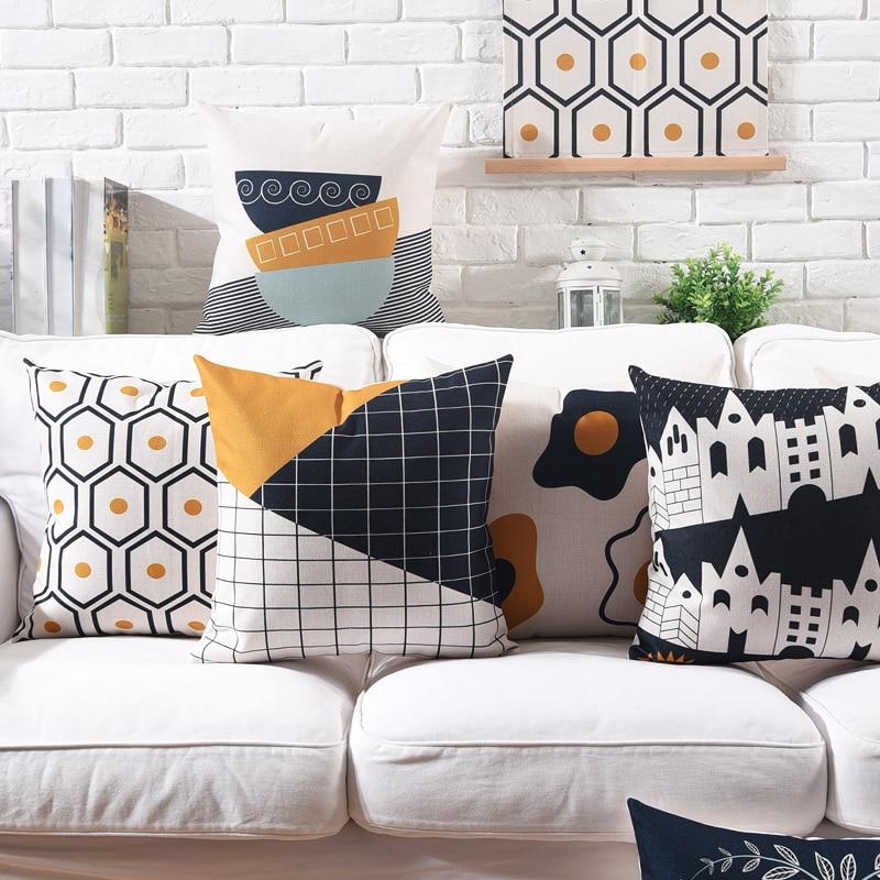 Duck Home Decor: Aliexpress.com : Buy Drop Ship Yellow Black Geometric