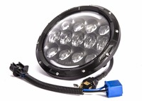 1pcs High Quality On Sale OSRAM Round 7INCH 105W LED HEADLIGHT Head Lamp High With DRL