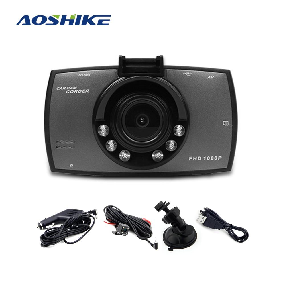 AOSHIKE DVR Car Driving Video-Recorder Dashcam-Camera Night-Vision Full-Hd G30 1080P