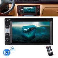 6.2 inch Touch Screen HD Double Din in Dash Car CD DVD Player Radio Stereo Bluetooth MP3 with Remote Control FM
