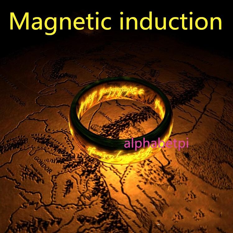 Chambre humaine d'évasion prop induction magnétique anneau magique déverrouiller magnétique pièce évasion pièce accessoires takagisme jeu