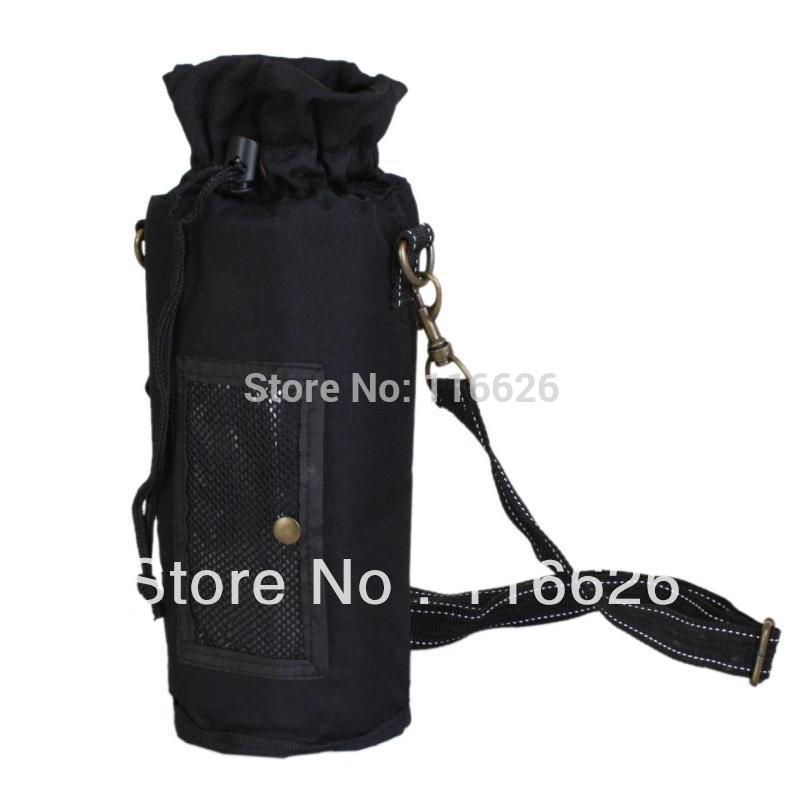 Top Grade Waterproof bottle thermal bag Oxford fabric insulated cooler bag w/Long Belt Casual drink