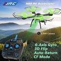 JJRC H98 2.4 GHz 4CH 6 Eixos Giroscópio RC Quadcopter Drone com câmera 0.3MP câmera Modo Headless Uma Tecla para Retornar com Luz LED Brinquedos DO RC
