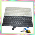 "Brand new UK Keyboard without Backlight & keyboard screws & screwdriver tools for Macbook Retina 13.3"" A1502 2013-15Years"