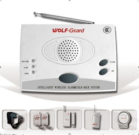 ФОТО Works with telephone line alarm system  16 defense-zone  (433Mhz/315Mhz) Emergency  Alarm  System