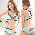 2015 hot underwear set women sexy push up bra sets double push up bras sexy women bras big size  women underwear bras for girls