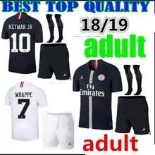 2018 2019 psg kit Paris CAVANI neymar jr football shirts 18 19 adult kit psg  champions 2b69f5478