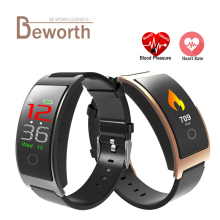 CK11C Smart Bracelet Fitness Band Blood Pressure Heart Rate Monitor IPS Color Screen CK11S Sport Bluetooth band Wristband