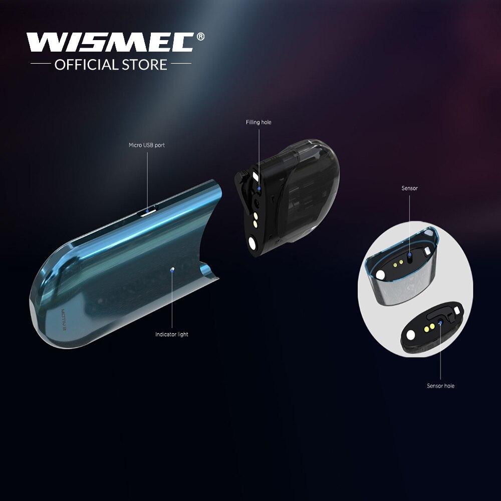 [Boutique officielle] D'origine Wismec MOTIV 2 kit tout-en-un pod style configuration cartouche rechargeable 3 ml capacité cigarette électronique - 4