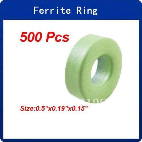 500 pz verde anello blu potenza toroide nucleo di ferrite t44 -