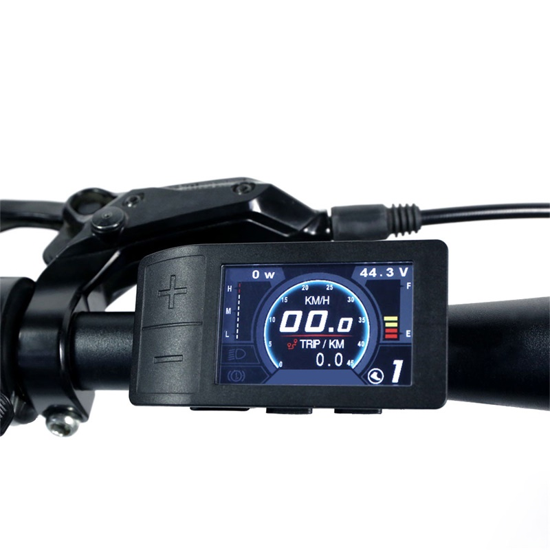 E bike LCD Display 500C Computer Controller For Bafang 8fun BBS01 BBS02 BBSHD Mid Hub Motor