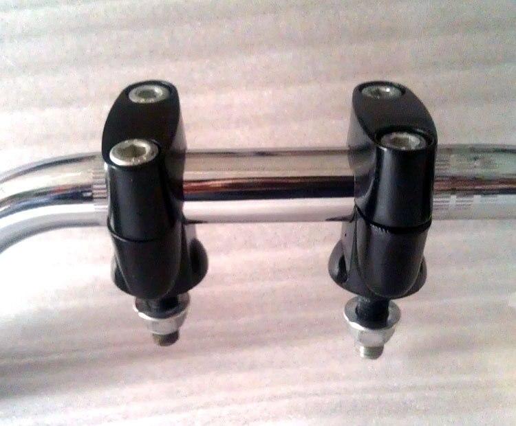 STARPAD For Suzuki GN250 faucet handle Kazi Kazi fixed card free shipping Black holder
