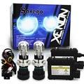 1 Unidades 55 W HID H4-3 Hi/lo del xenón del Bi H4 Bixenon h4 bi-xenonHID Kit 4300 K 6000 K 8000 K para faros de xenón del automóvil Del Coche t DC 12 V