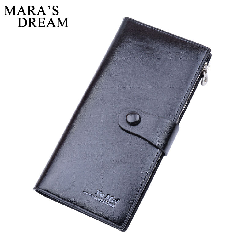 Mara's Dream Fashion PU Leather Wallet Women Luxury Fashion Lady Party Coin Purse Wallet Oil Women Wallets 2018 Card Holder simline fashion genuine leather real cowhide women lady short slim wallet wallets purse card holder zipper coin pocket ladies