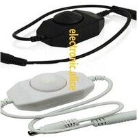 100pcs White Black knob line led dimmer 12v switch PWM Dimmer