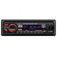 AUTO Volume knob mini screen Car AUX Input LCD Audio Stereo In-Dash Auto Car Radio MP3 Player FM Aux Input Receiver USB SD Au18