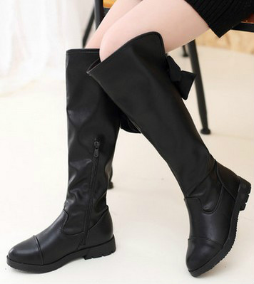 Girls high boots children boots fashion boots boots