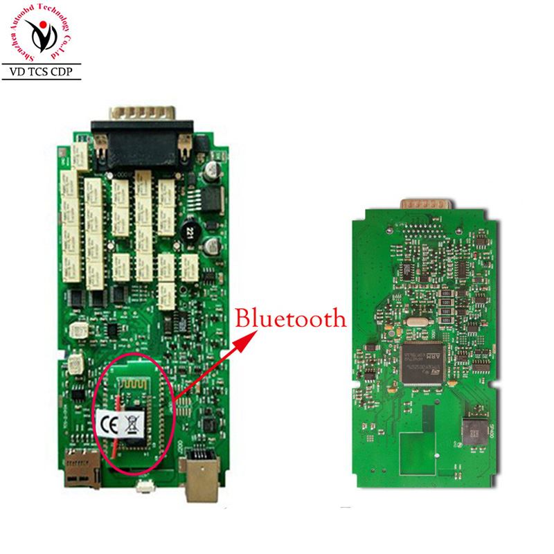 with Bluetooth main board Single PCB for VD TCS CDP PRO PLUS / multidiag pro+ /wow CDP all cdp seriel