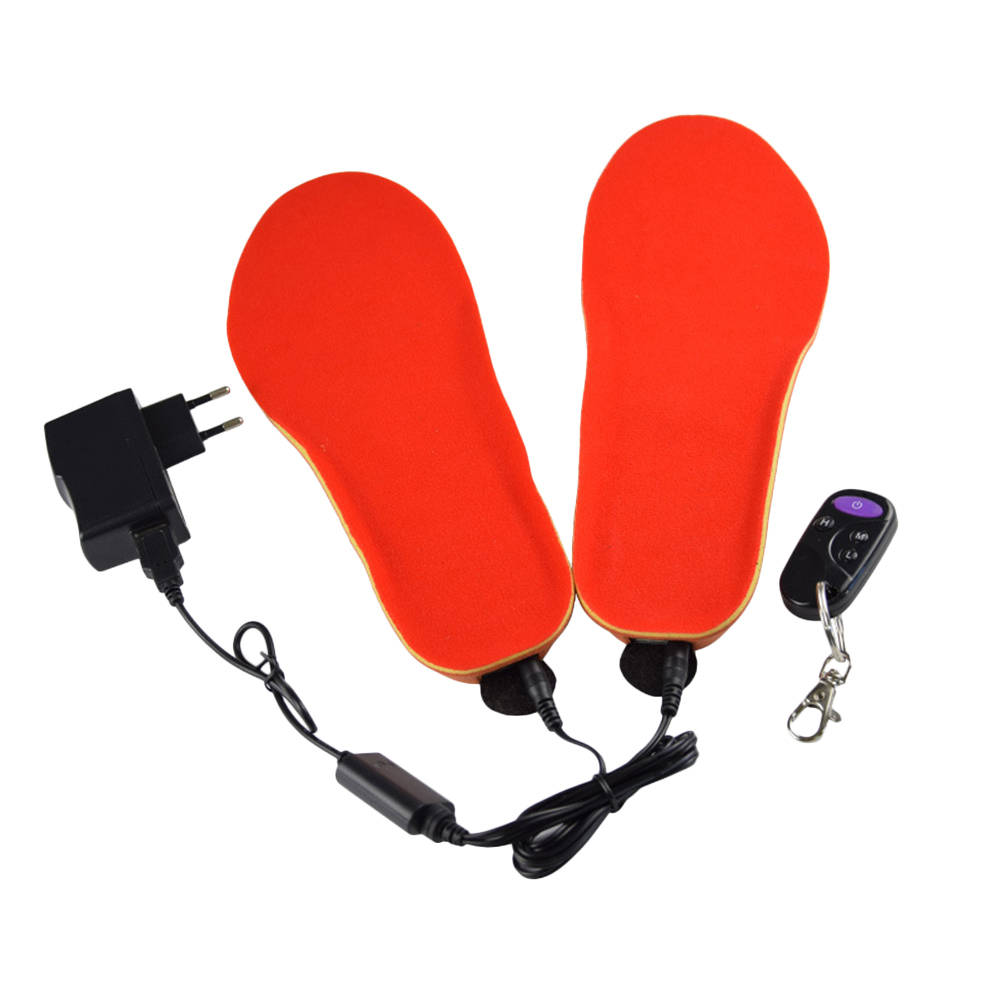 Waterproof USB Rechargeable Electric Heated Insoles Remote Control Foot Warmer Shoes Pad All-shippingWaterproof USB Rechargeable Electric Heated Insoles Remote Control Foot Warmer Shoes Pad All-shipping