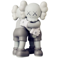 Medicom Toy KAWS Together ProtoType Hug Vinyl Doll OriginalFake Street Art Action Figure Model Toy G1657