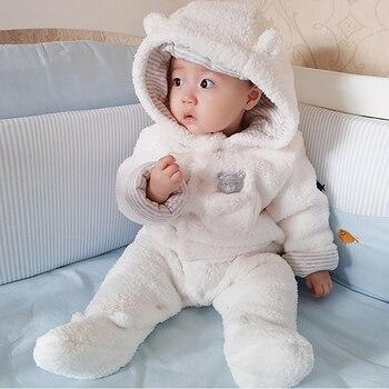 Нежная одежда для малышей, 2018 Новый комбинезон для новорожденных мальчиков и девочек, одежда с длинными рукавами для младенцев