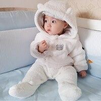 Winter Newborn Baby Girl Winter Clothes Jumpsuit Spring Infantil Menino Autumn Comfortable Baby Romper Long Sleeve