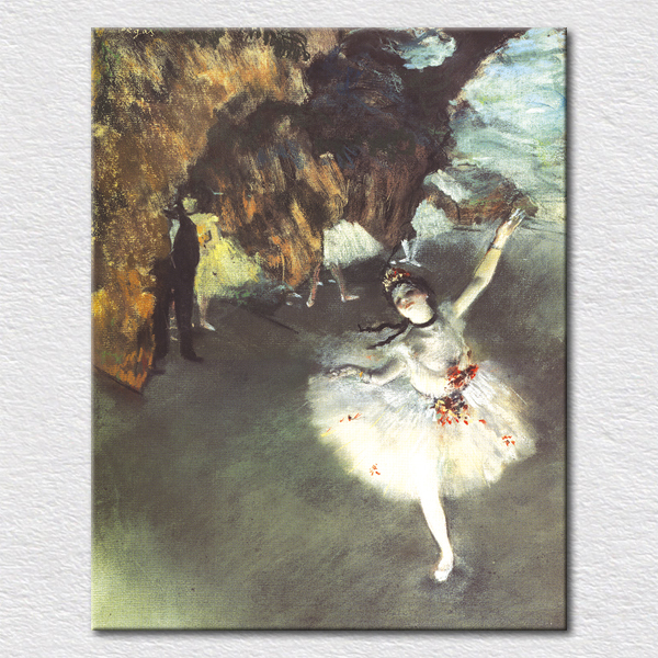BALLET DANCER classical famous oil painting picture print on canvas good gift for girls birthday