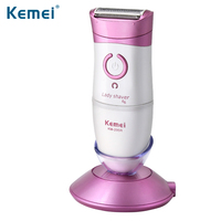 Kemei Women Shave Wool Device Knife Electric Shaver Wool Epilator Shaving Lady's Shaver Female Care N30C