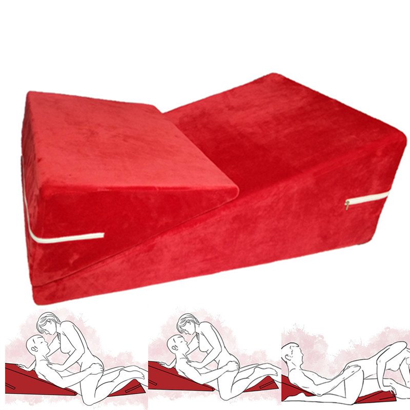 High Quality Sexy Cojines Amarillos Sofa Love Chair Elastic Sponge Almofada Erotic Cushion Bed For Couples Game Pillow Toys