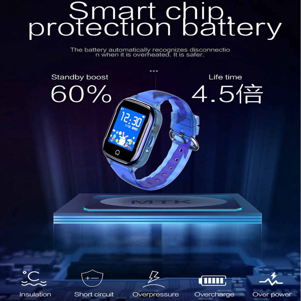 K21 Smart GPS Watch Kids 2019 New IP67 Waterproof SOS Phone Smart Watch Children GPS Clock Fit SIM Card IOS Android Wristwatch
