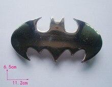 Punk bat belt buckles,metal DIY brand luxury mens designer batman silver steampunk belt buckles,rock cool buckle