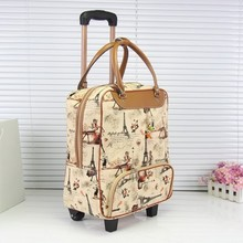 2017 New Quality Rolling Luggage Trolley Bag Travel Bags Hand Trolley Female&male Bag Large Package Travel Suitcase JJ170093