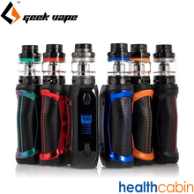 Geekvape Aegis Solo 100W Box Mod Kit 18650 Battery 5.5ml Cerberus Tank Super Mesh X2 Coil Electronic Cigarette Kit VS Aegis Mini