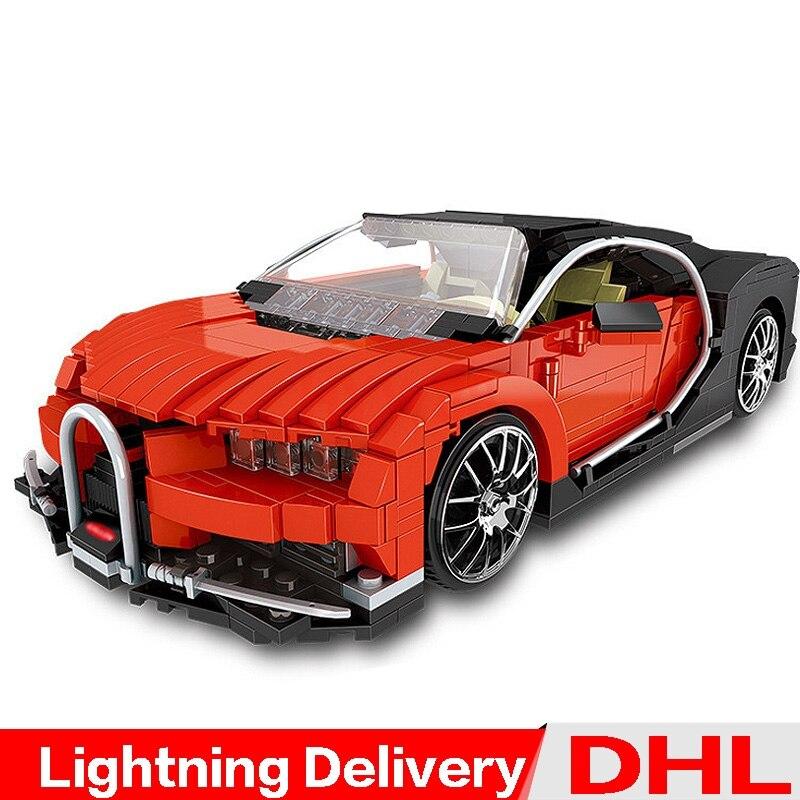 XingBao 03009 bloc créatif MOC Technic série le Gallon Supercar ensemble blocs de construction briques lepinings jouets modèle Clone LP